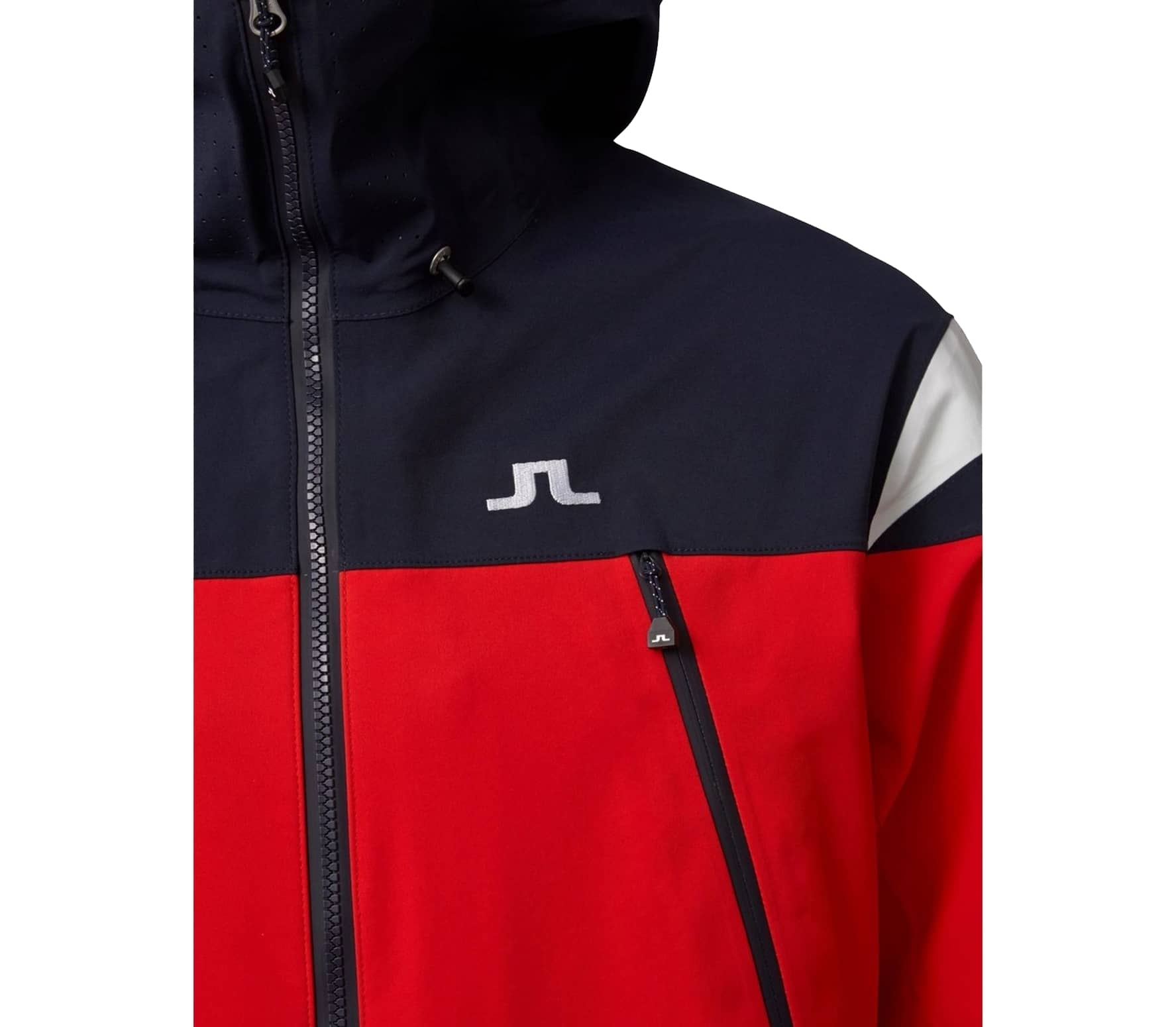 J.Lindeberg - Harper 3L GoreTex men's skis jacket (red/dark blue)