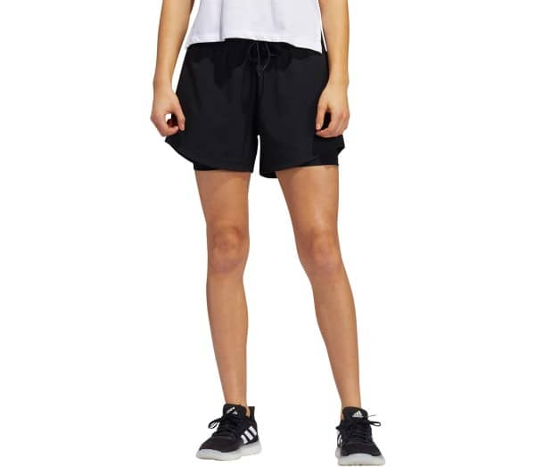 ADIDAS 2In1 Woven Damen Trainingsshorts - 1