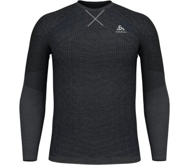 Odlo - Evolution Light Blackcomb BL Top Crew Neck Herren Funktionslongsleeve (schwarz)