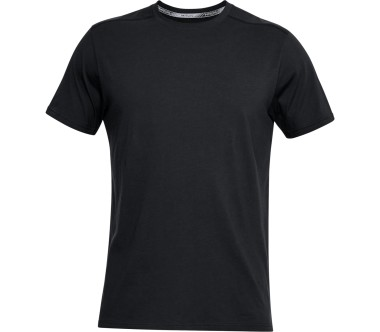 Under Armour Run Back Graphic Shortsleeve Uomo argento