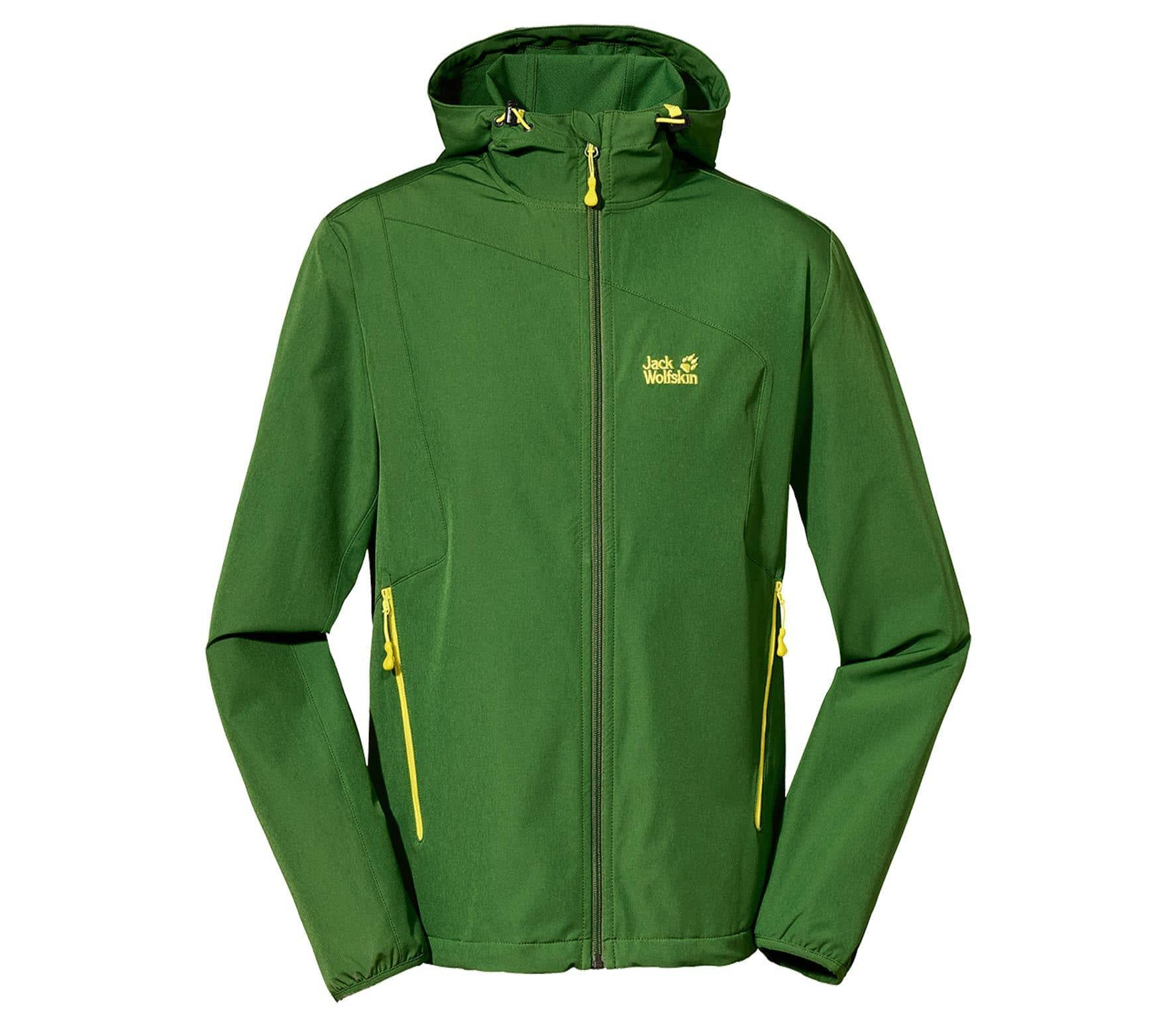cheap for discount 65fdc 90d8c Jack wolfskin Turbulence Uomo Giacca Softshell Men