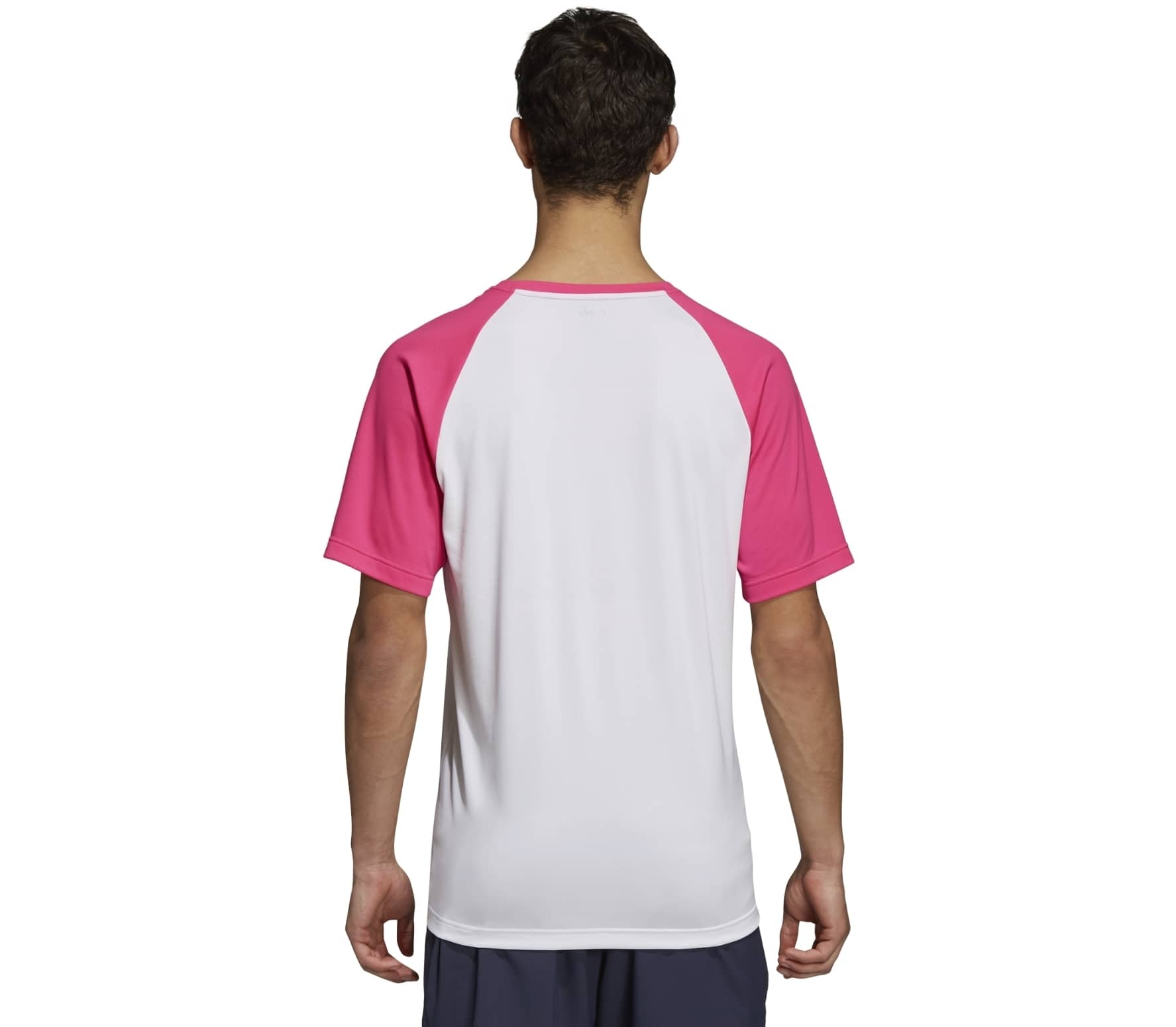 f160bd855ec9 adidas performance - Club Color Block Hommes Tennis chemise (rose)
