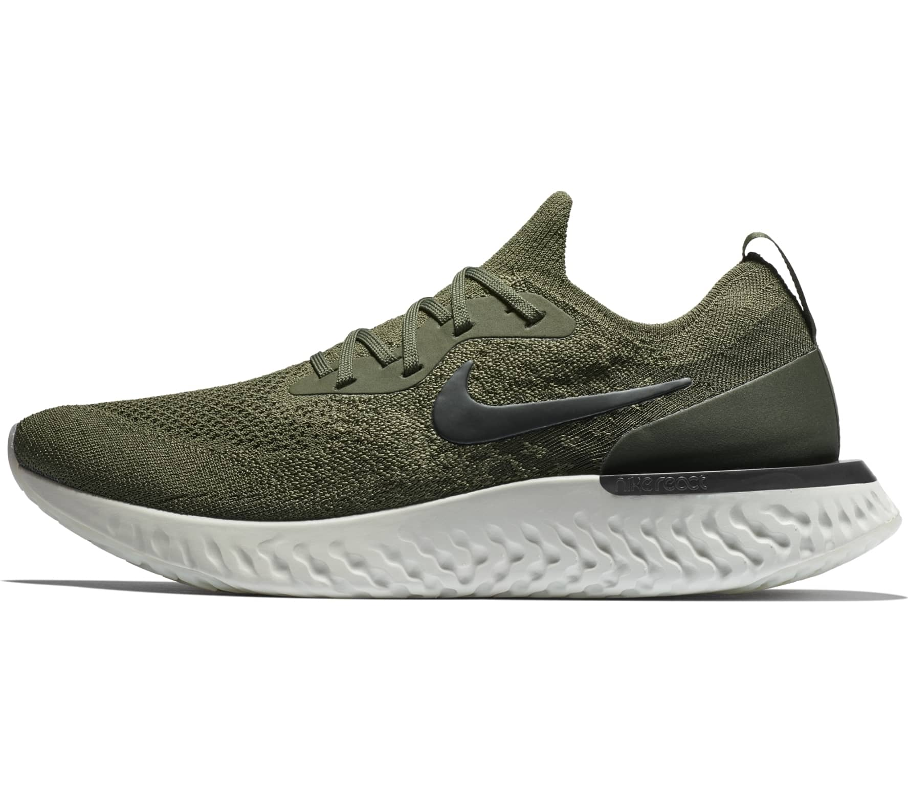 2589a13024f5f Nike - Epic React Flyknit men s running shoes (matcha) - buy it at ...