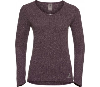 Odlo Lou Linencool BL Top Crew Neck Women purple