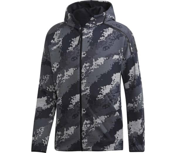 ADIDAS Zone Hooded All over Graphic Herr Jacka - 1