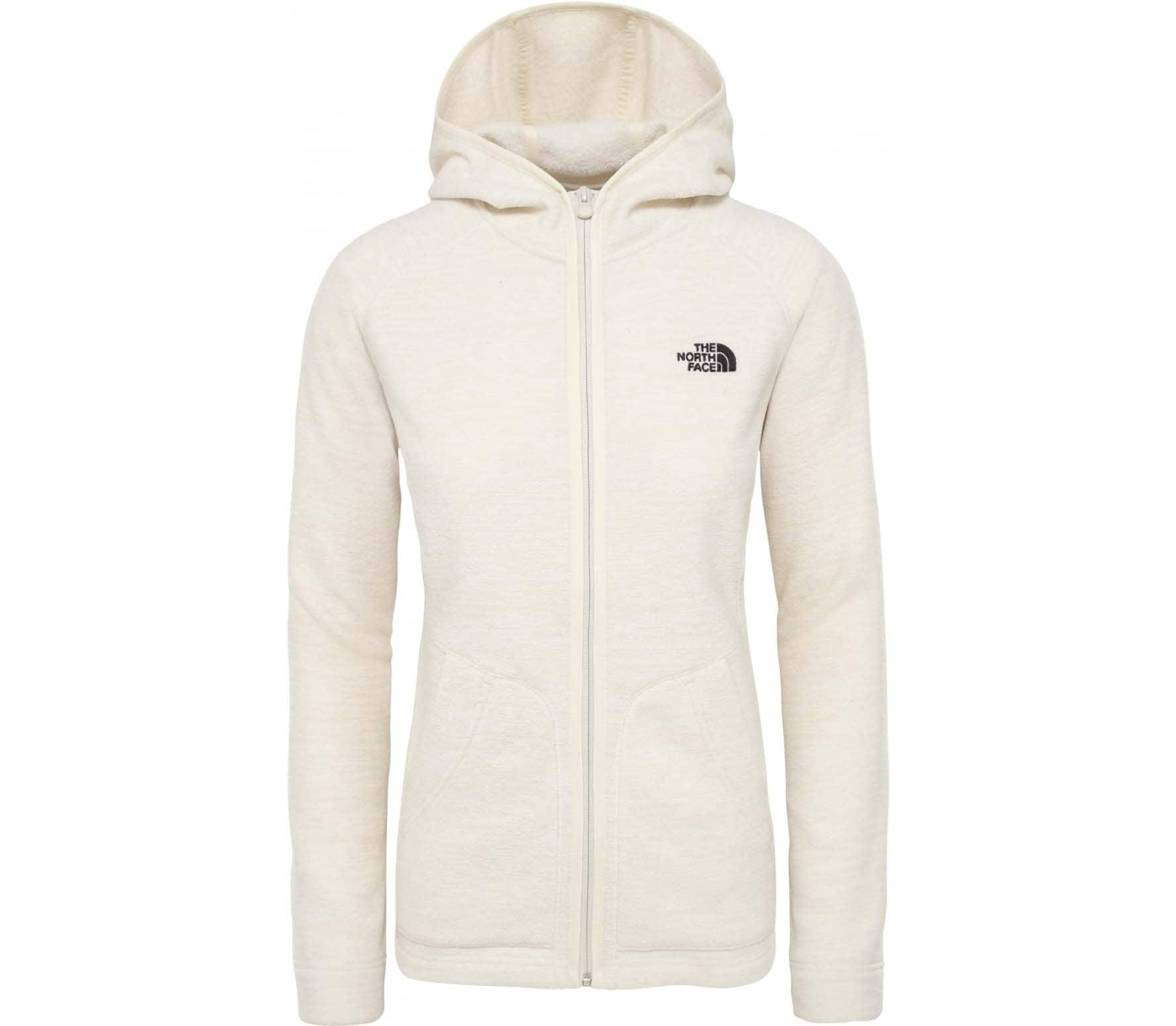 huge selection of a1bf0 4f667 The North Face NIKSTER FULL ZIP Damen Fleecejacke weiß
