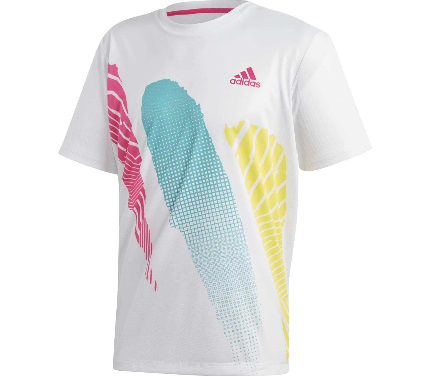 adidas performance Seasonal men's tennis top (white)