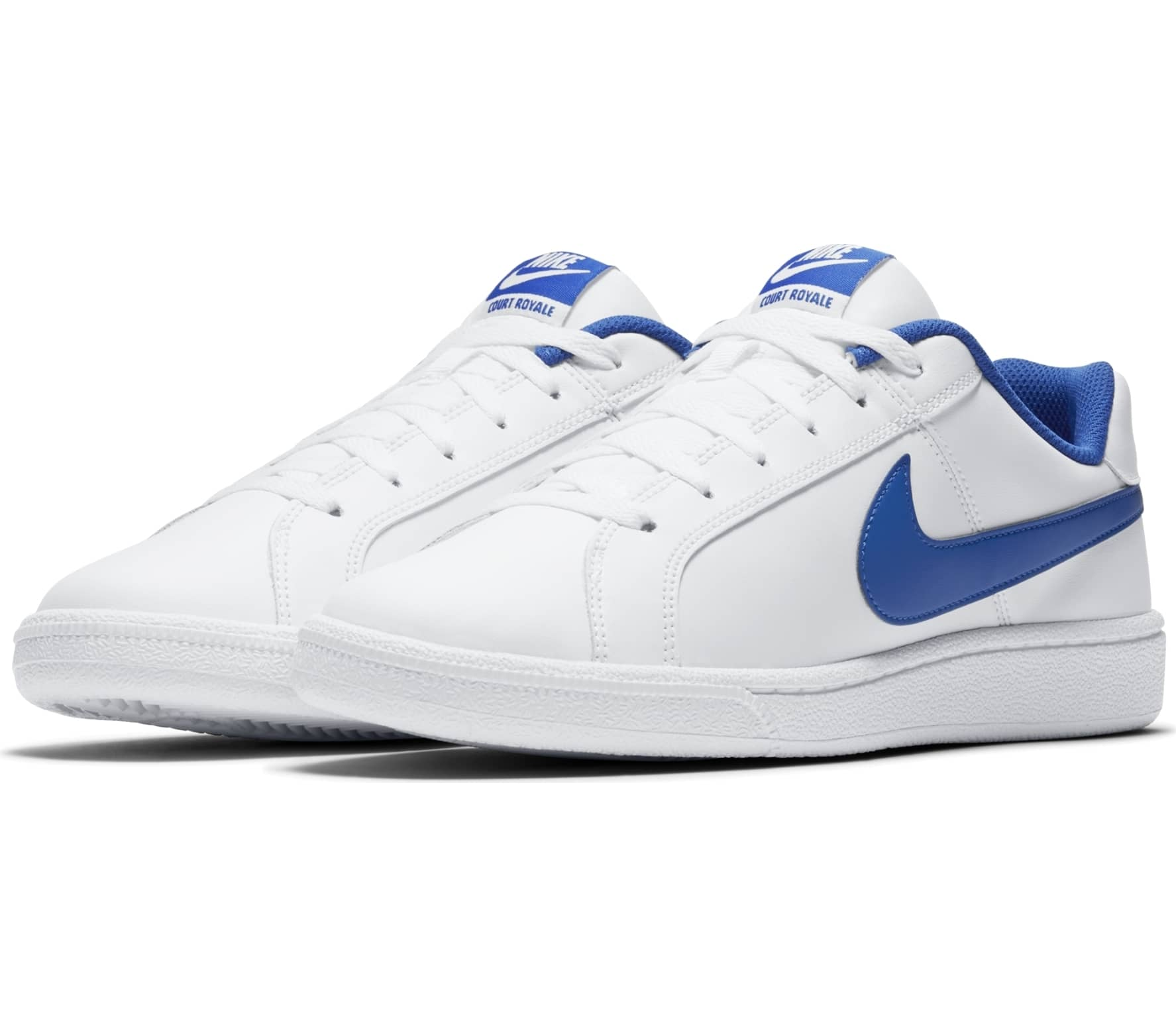 ff4ff0aaa3862b Nike - Court Royale men s sneaker (white blue) - buy it at the ...