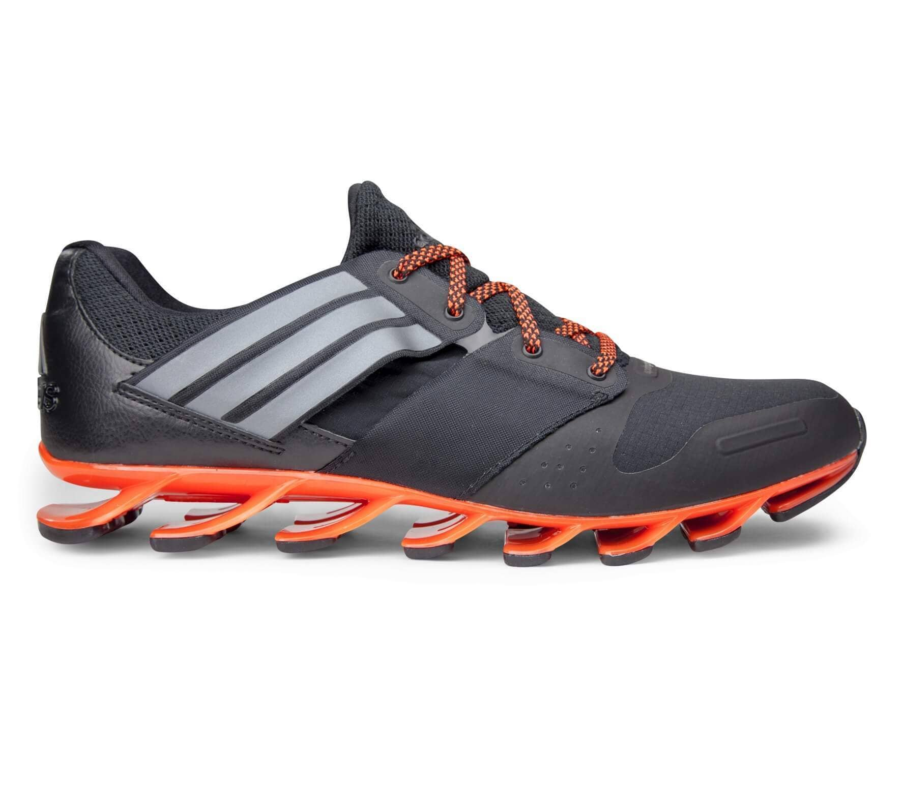 low priced 053d0 25463 Adidas - Springblade Solyce men's running shoes (black/orange)
