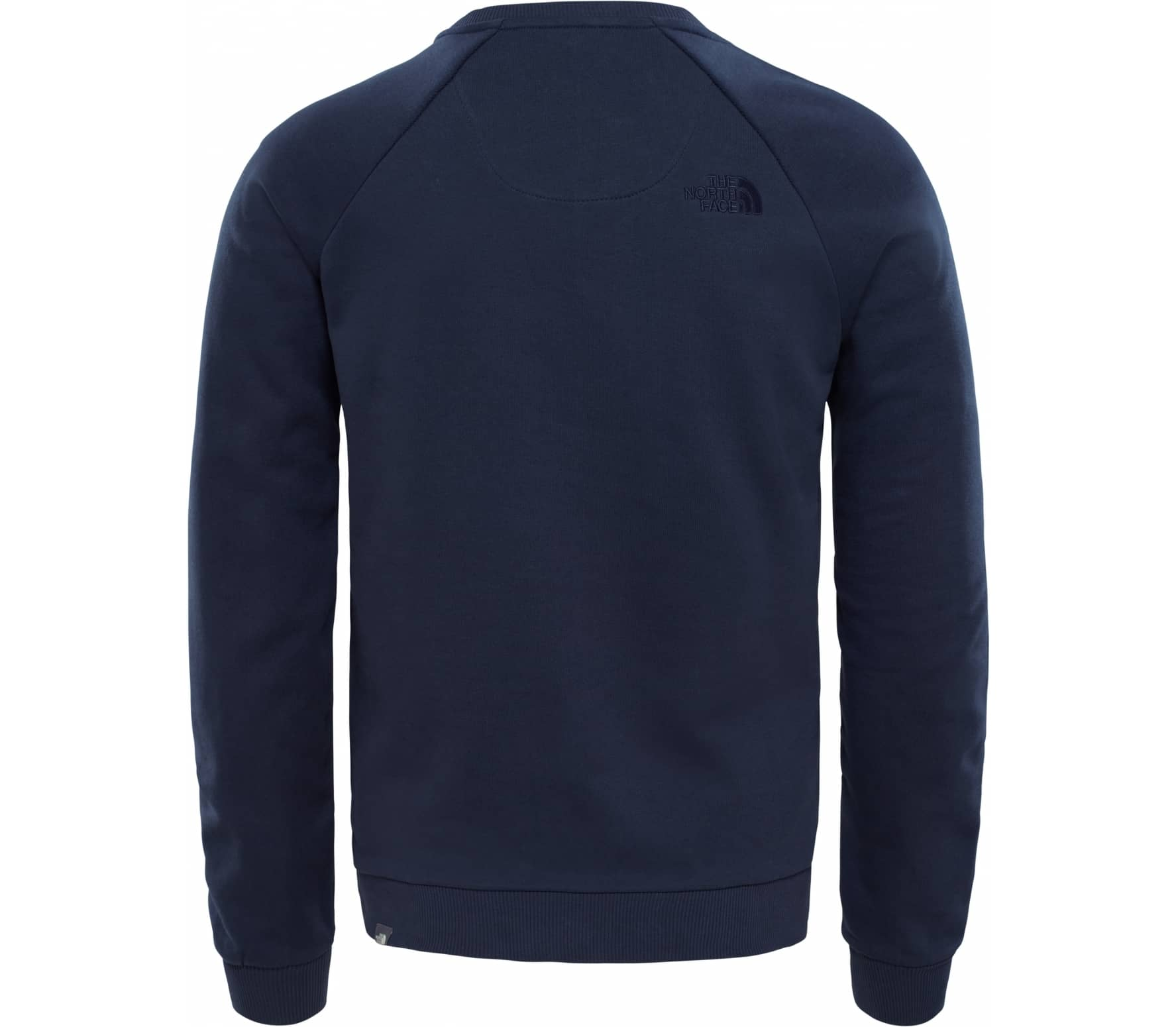 The North Face - Raglan Simple Dome Crew Uomo maglione in pile (blu scuro) fa43a6b01945