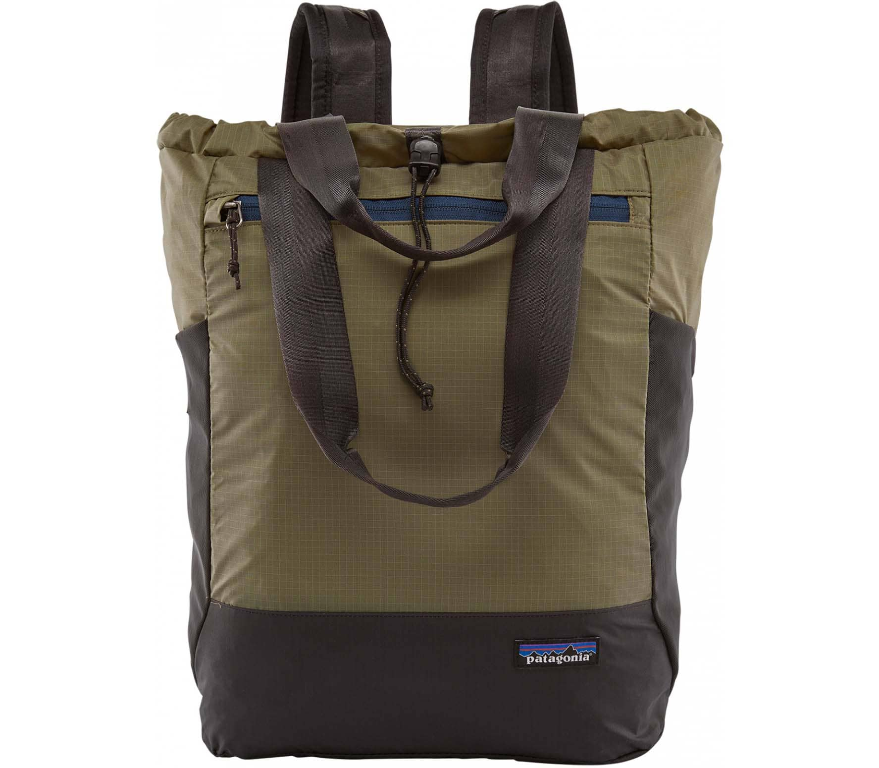 Patagonia Ultralight Black Hole Tote Pack Unisex Backpack green