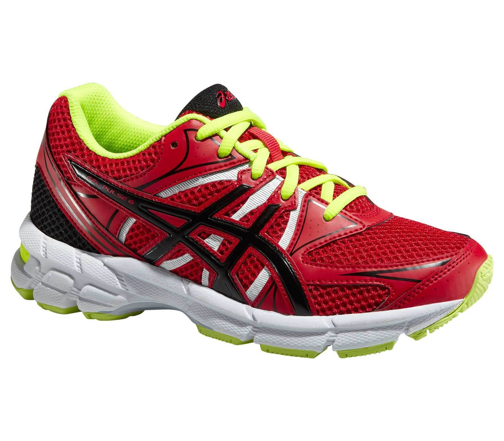 f9d94886f4e0b ASICS - Gel-Pulse 6 GS Junior running shoes (red yellow) - buy it at ...
