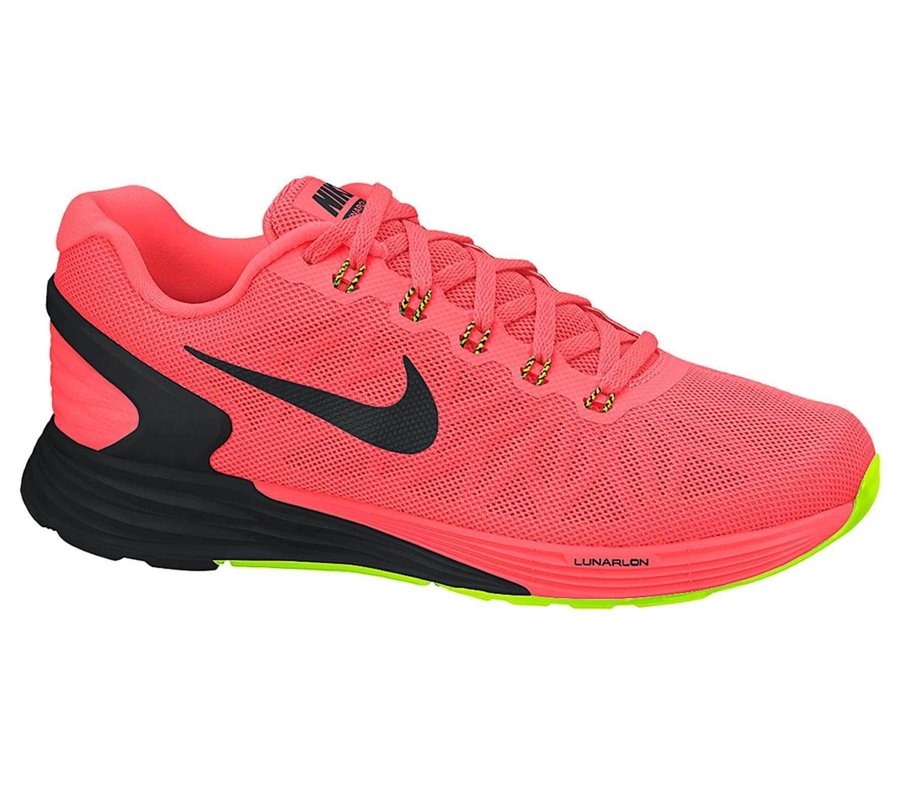 competitive price 28b2b ec9e9 Nike - Lunarglide 6 men s running shoes (red black)