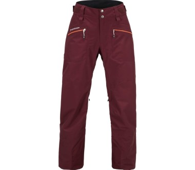 Peak Performance - Radical women's 3-layer ski pants (dark red)