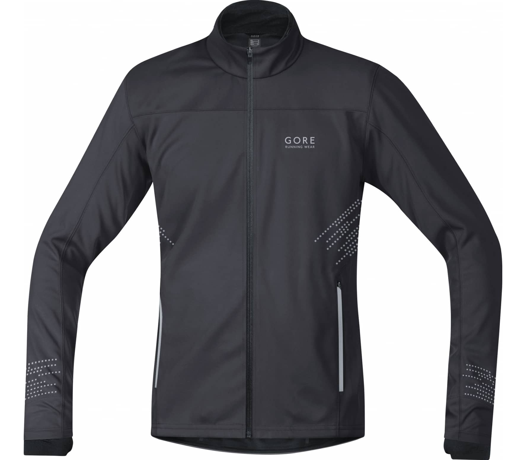 GORE Wear® - Mythos GWS men's running jacket (anthracite) - S thumbnail