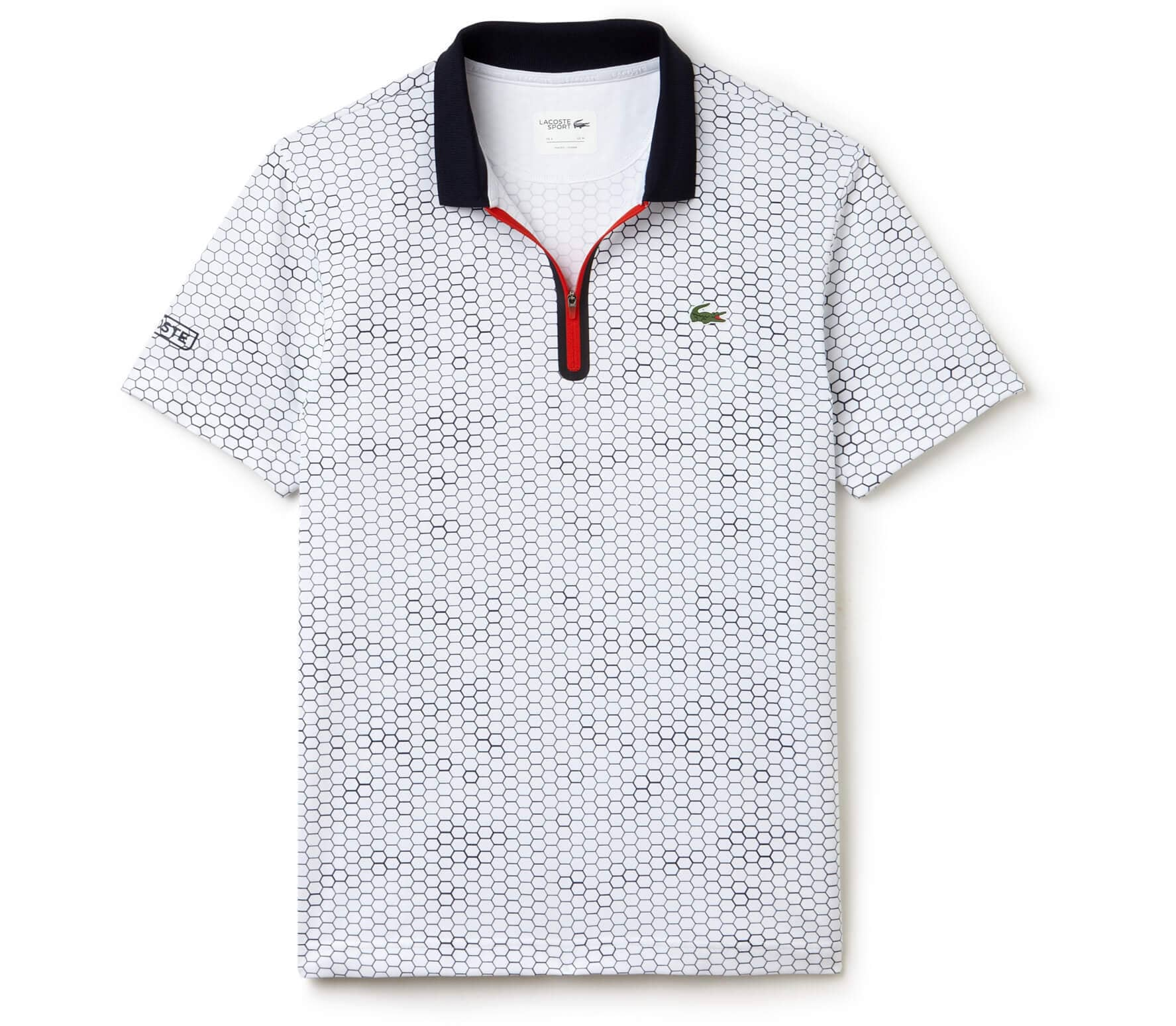 e58429be679 Lacoste - men s tennis polo top (grey dark blue) - buy it at the ...
