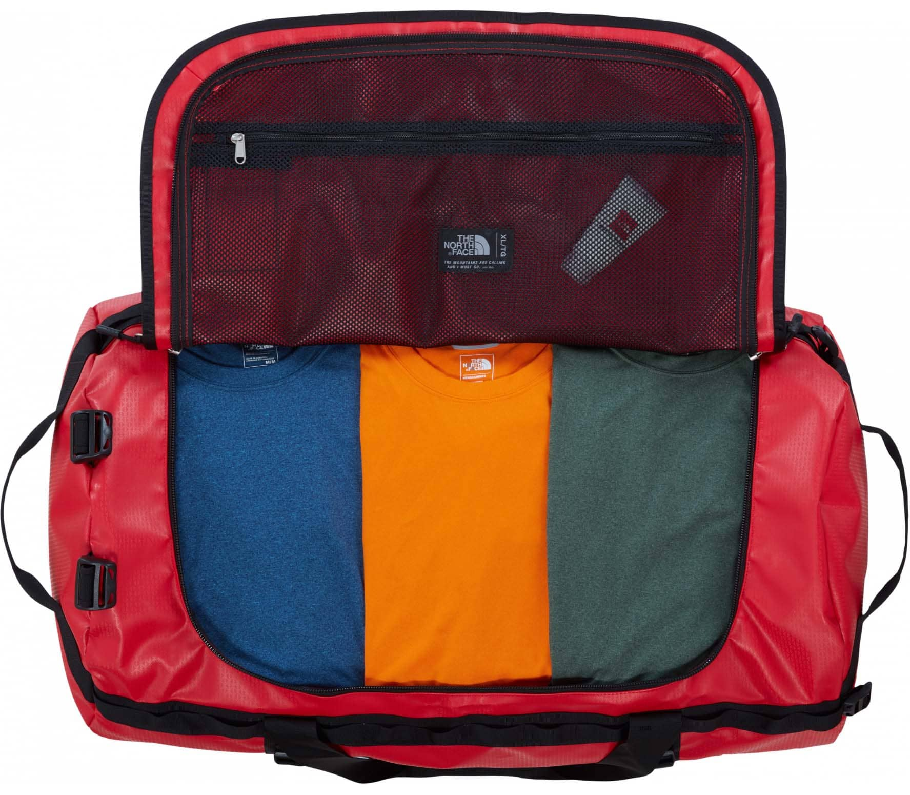 The North Face Base Camp XL Duffel Unisex red