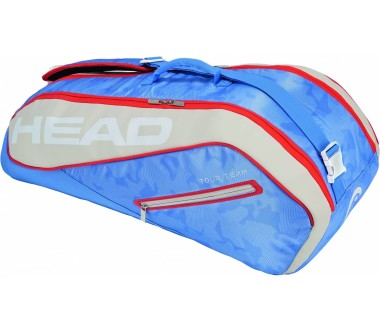 Head - Tour Team 6R Combi tennis bag (light blue/beige)
