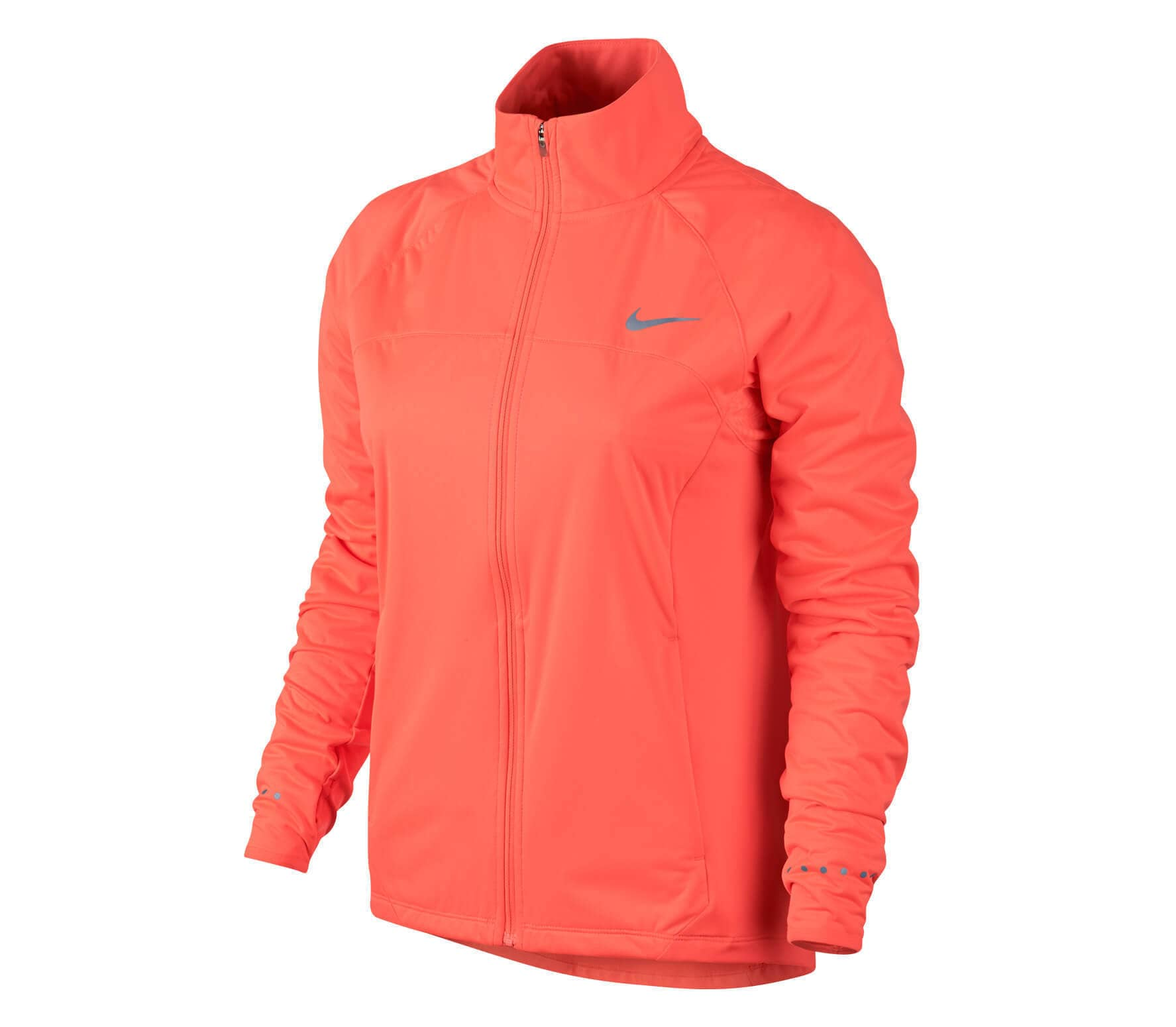 3fe392cae24 Nike - Shield Full Zip 2.0 Dames sportjack (oranje) online kopen in ...