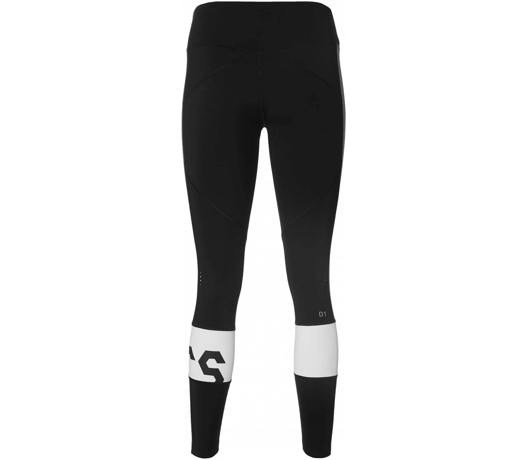 a8f21a68b2f ASICS Color Block Cropped 2 Women Running Tights black