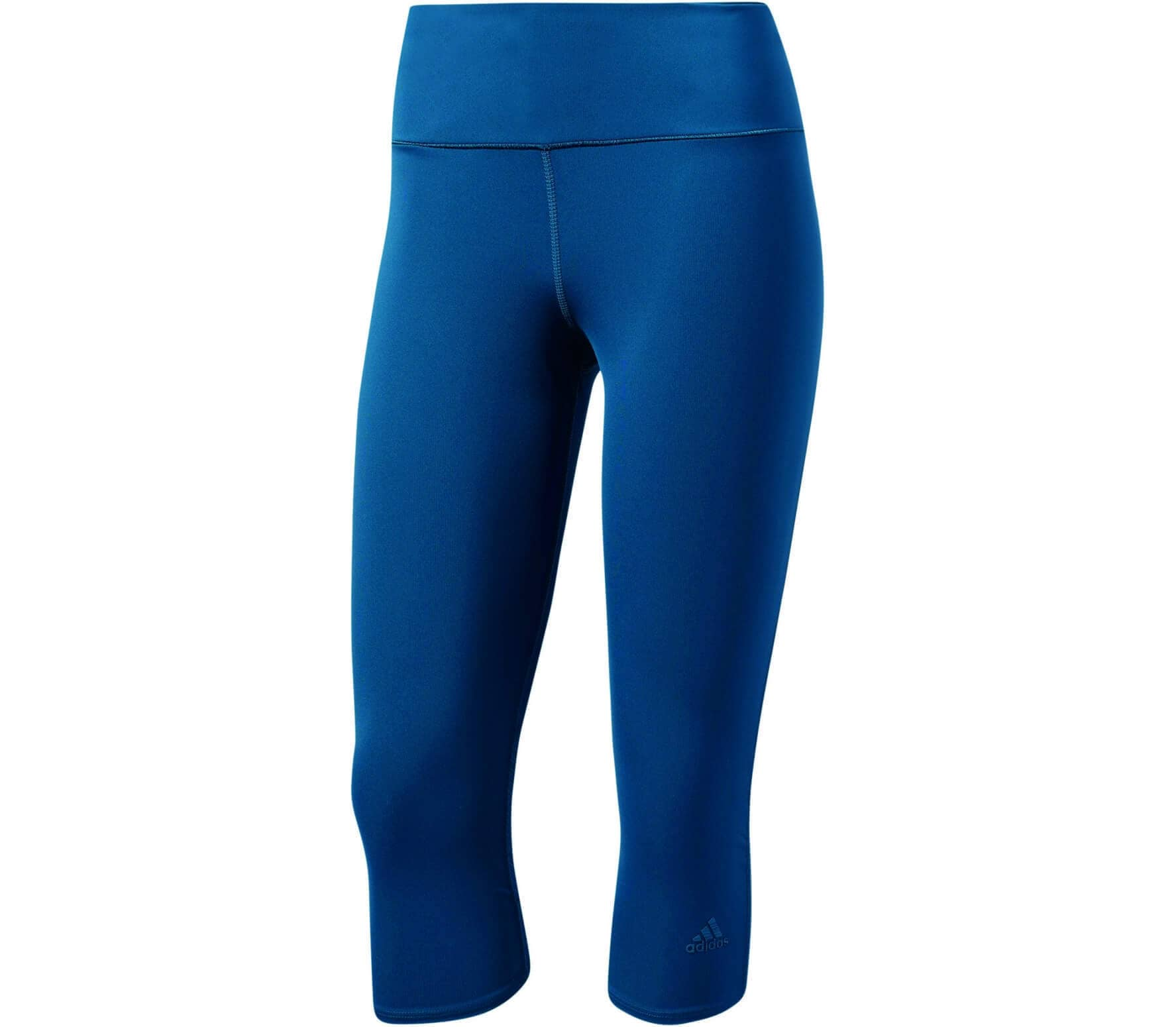 d7e207bed Adidas - Supernova 3 4 women s running pants (blue) - buy it at the ...