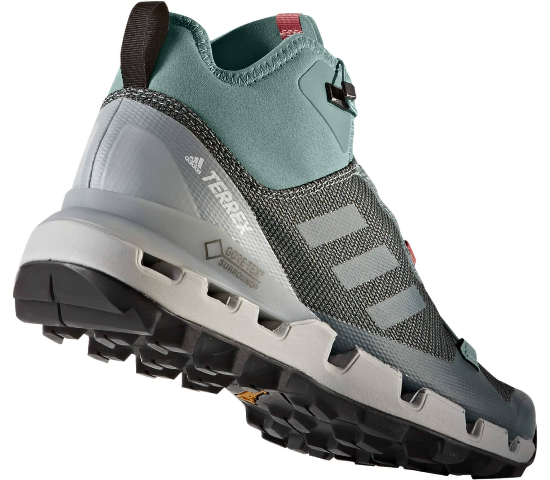 Adidas Terrex Fast Mid GTX Surround women's hiking shoes (greyblue)