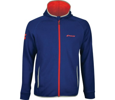 Babolat - Core men's tennis hoodie (dark blue/red)