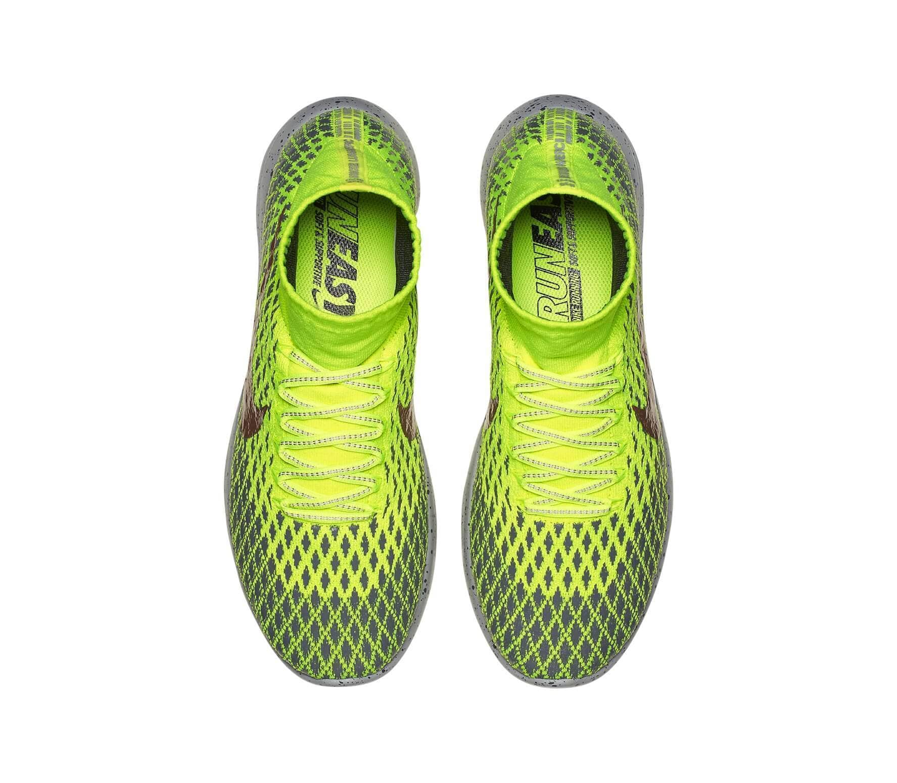 sports shoes 9b976 04515 Nike - LunarEpic Flyknit Shield mens running shoes (light greengrey)