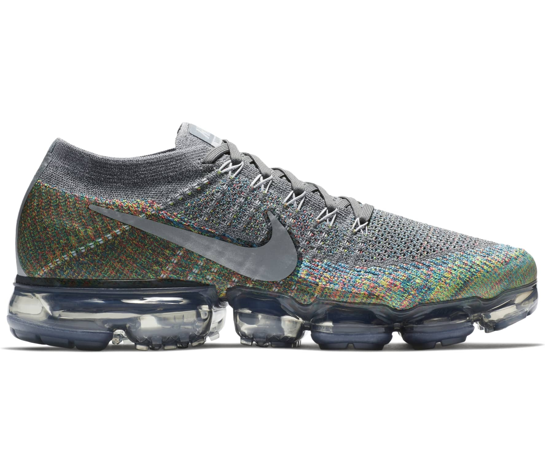 quality design e664c a8bbb Nike - Air VaporMax Flyknit mens running shoes (grey)