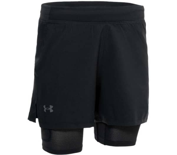 UNDER ARMOUR Iso-Chill Run 2n1 Heren Hardloopshorts - 1