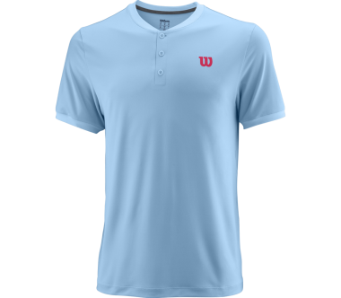 Wilson - UWII Henley men's tennis top (blue)