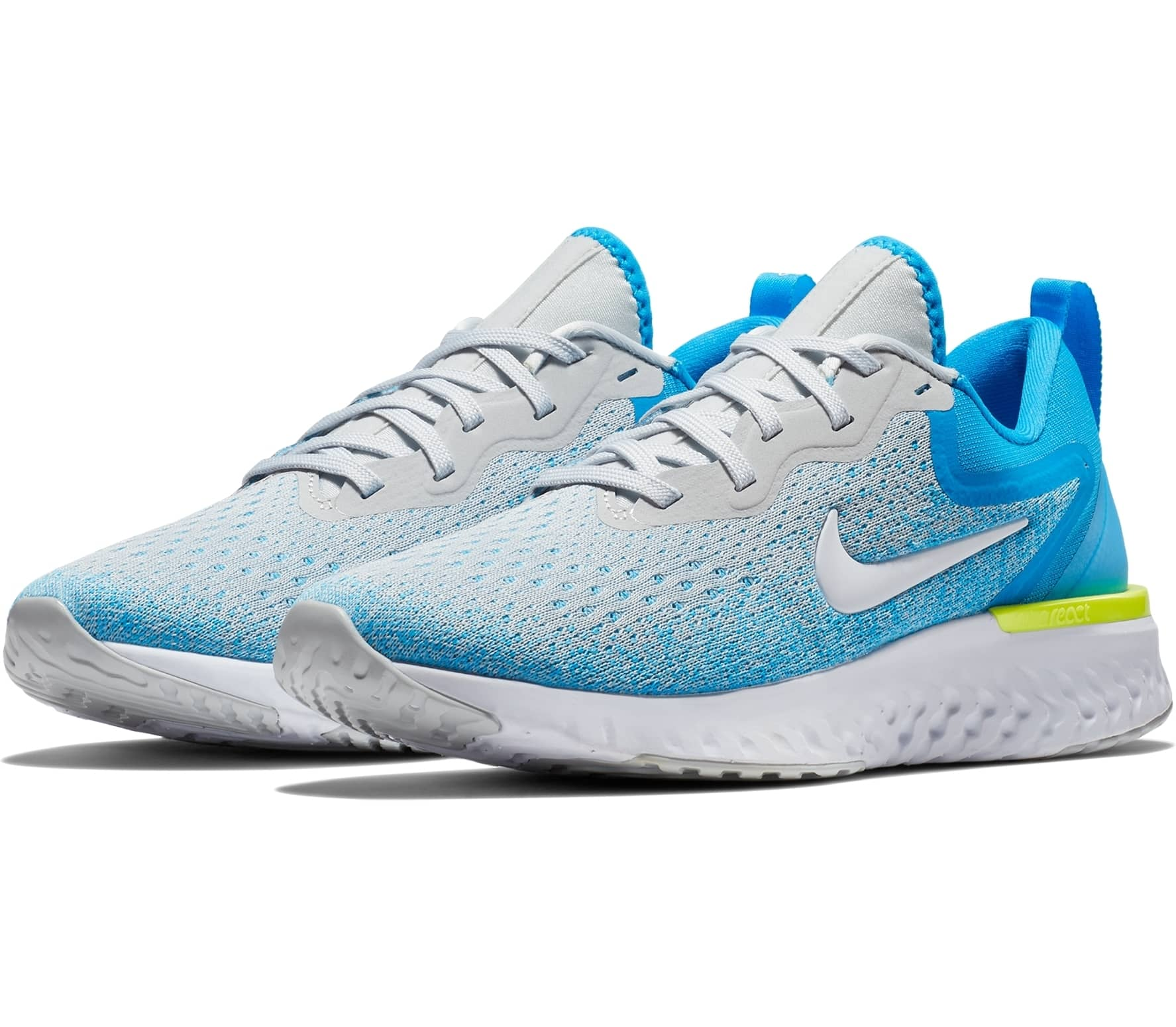 new product bf4f3 53888 Nike - Odyssey React women s running shoes (grey blue)