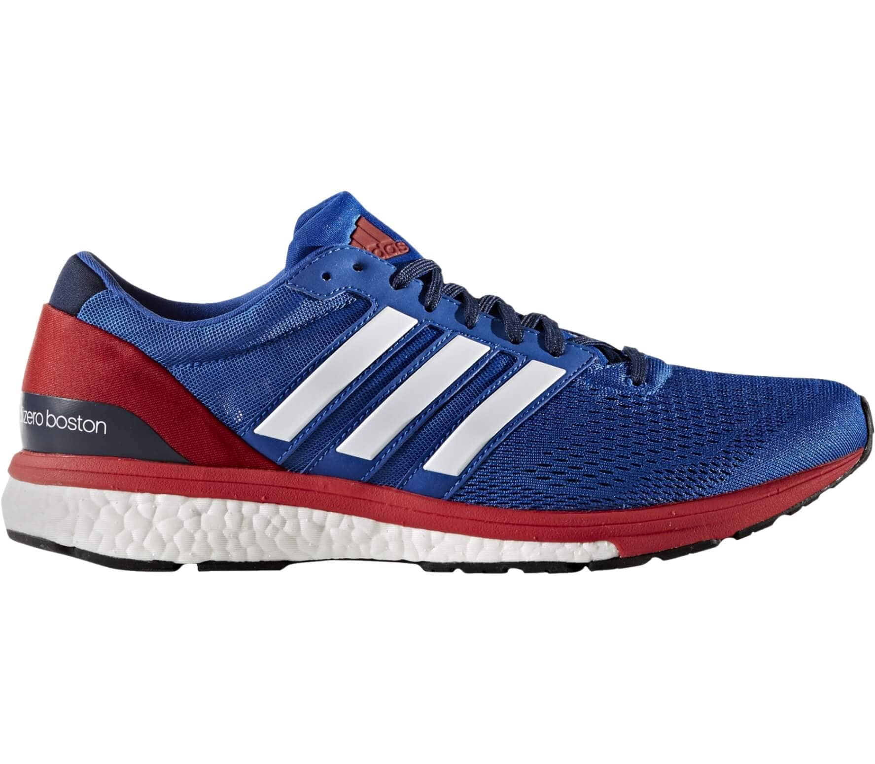 sports shoes b52d5 fd4bb Adidas - Adizero Boston 6 Aktiv zapatillas de running para hombre  (azul blanco)