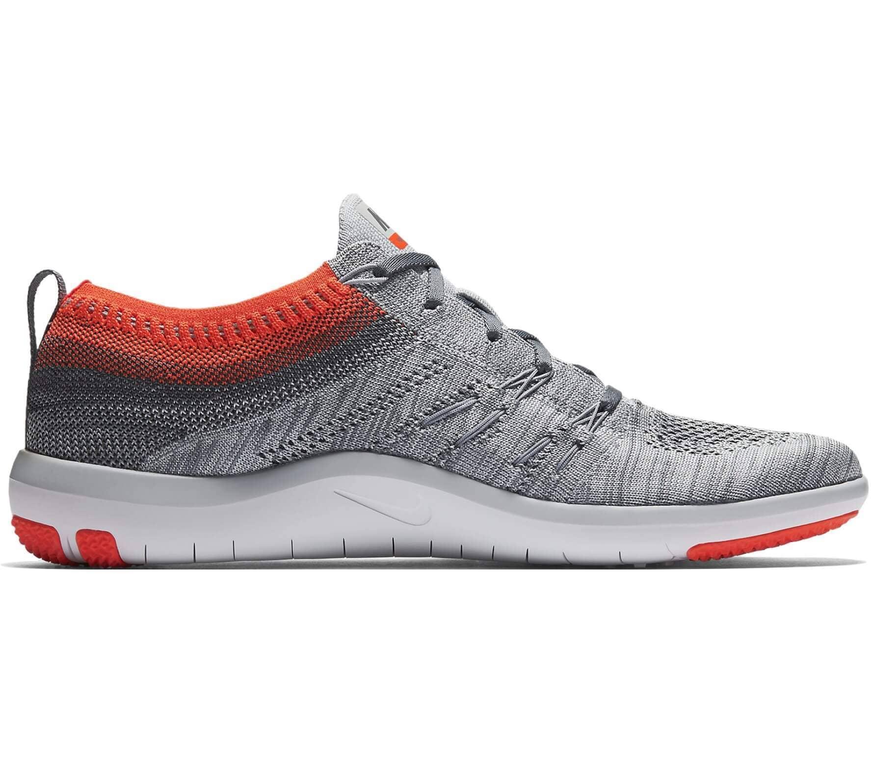 Nike - Free Focus Flyknit Damen Trainingsschuh (grau)