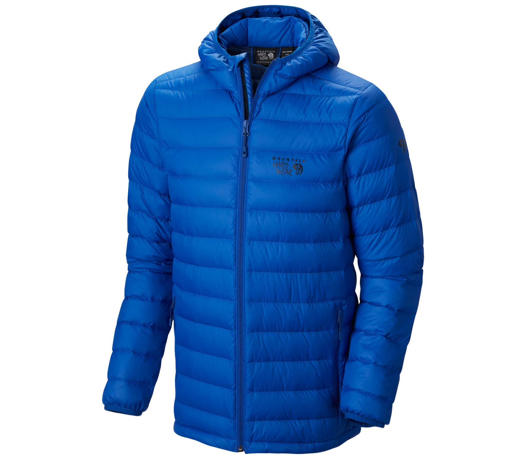 outlet store f6696 307e8 Mountain Hardwear - Micro Ratio Hooded Down Herren Daunenjacke (blau)