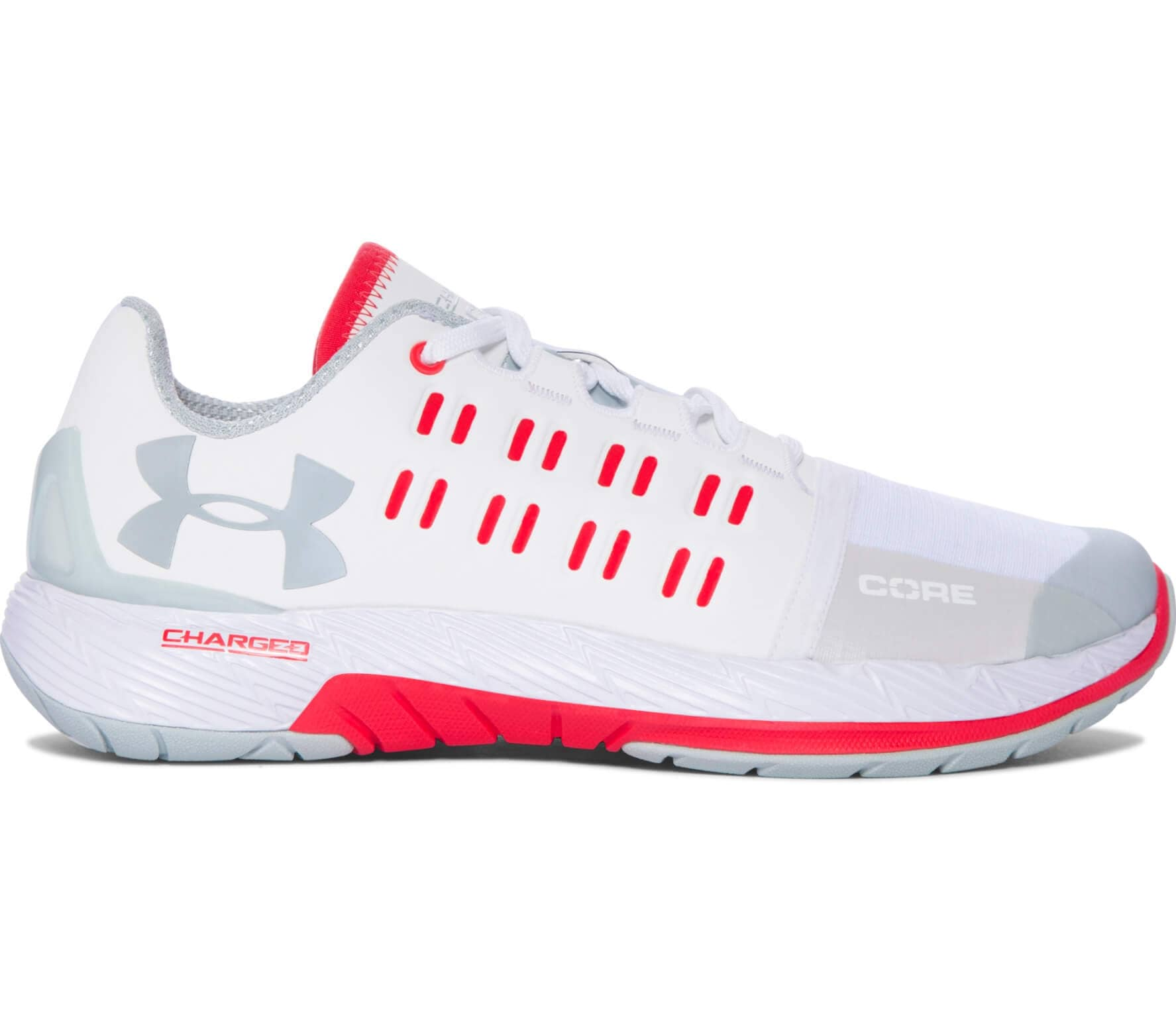 wholesale dealer 4872b 22e53 Under Armour Charged Core Women white