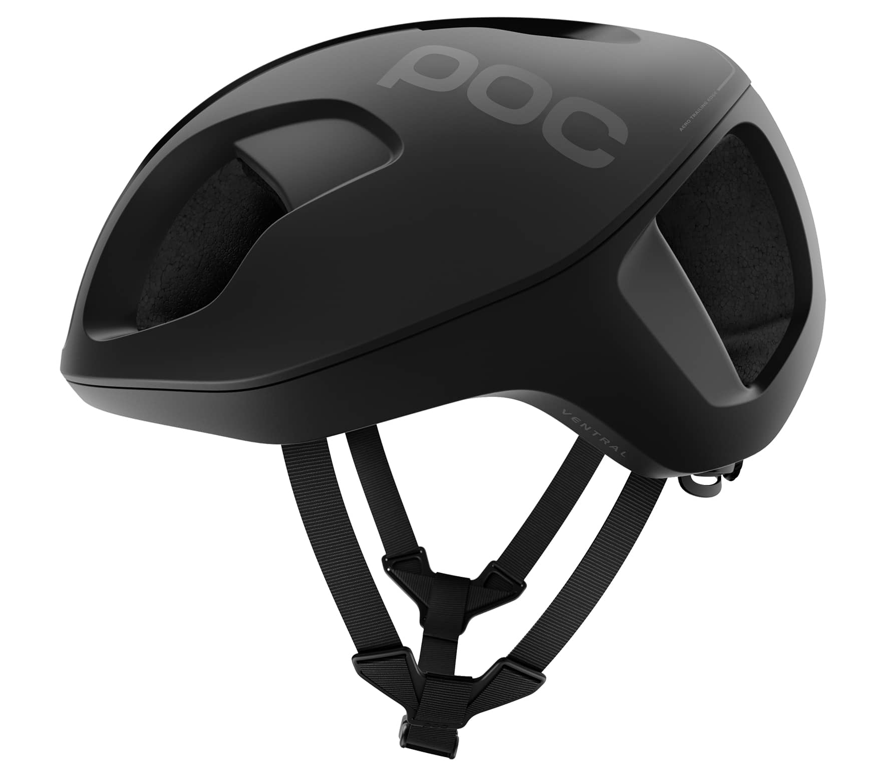 POC - Ventral Spin Bicycle helmets (black)
