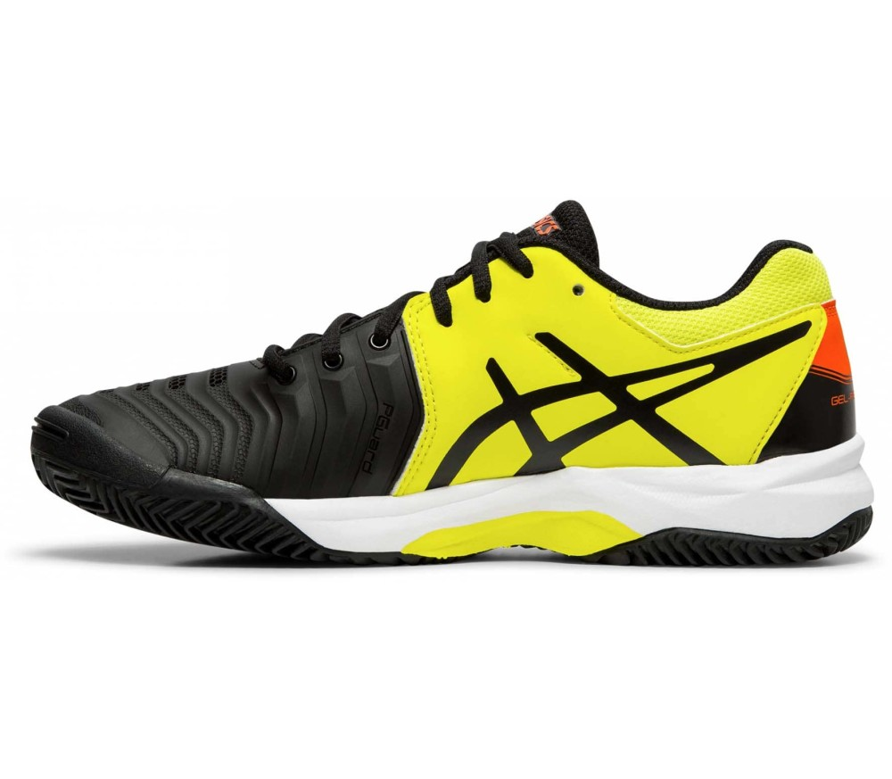ASICS Gel-Resolution 7 Clay Gs Kinder Tennisschuh schwarz