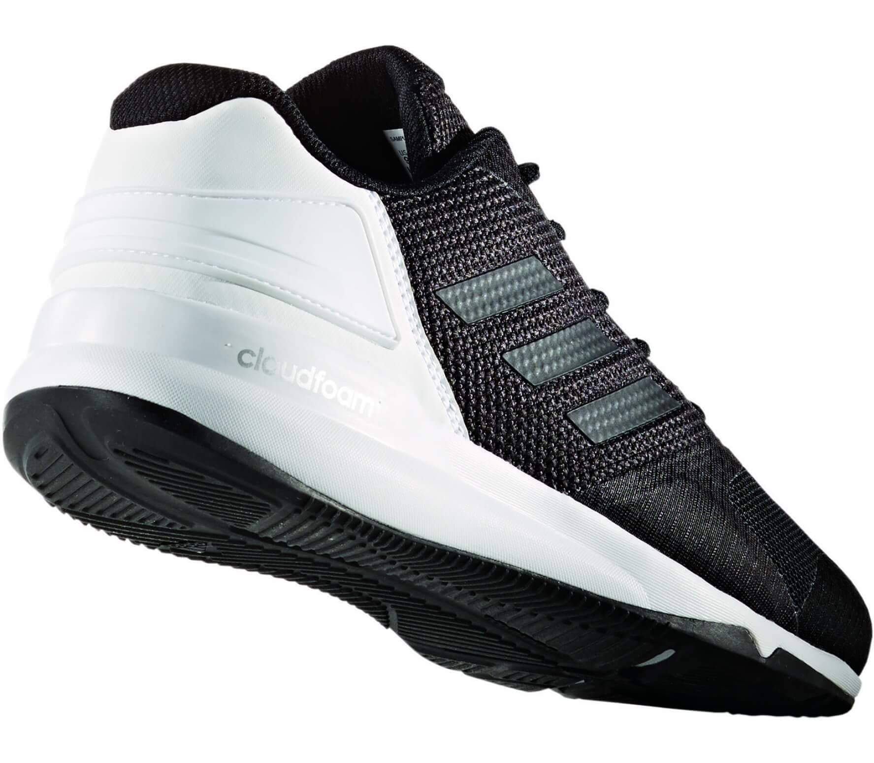 new style f4337 2c480 Adidas - Crazy Train 2 Cloudfoam mens training shoes (blackwhite)