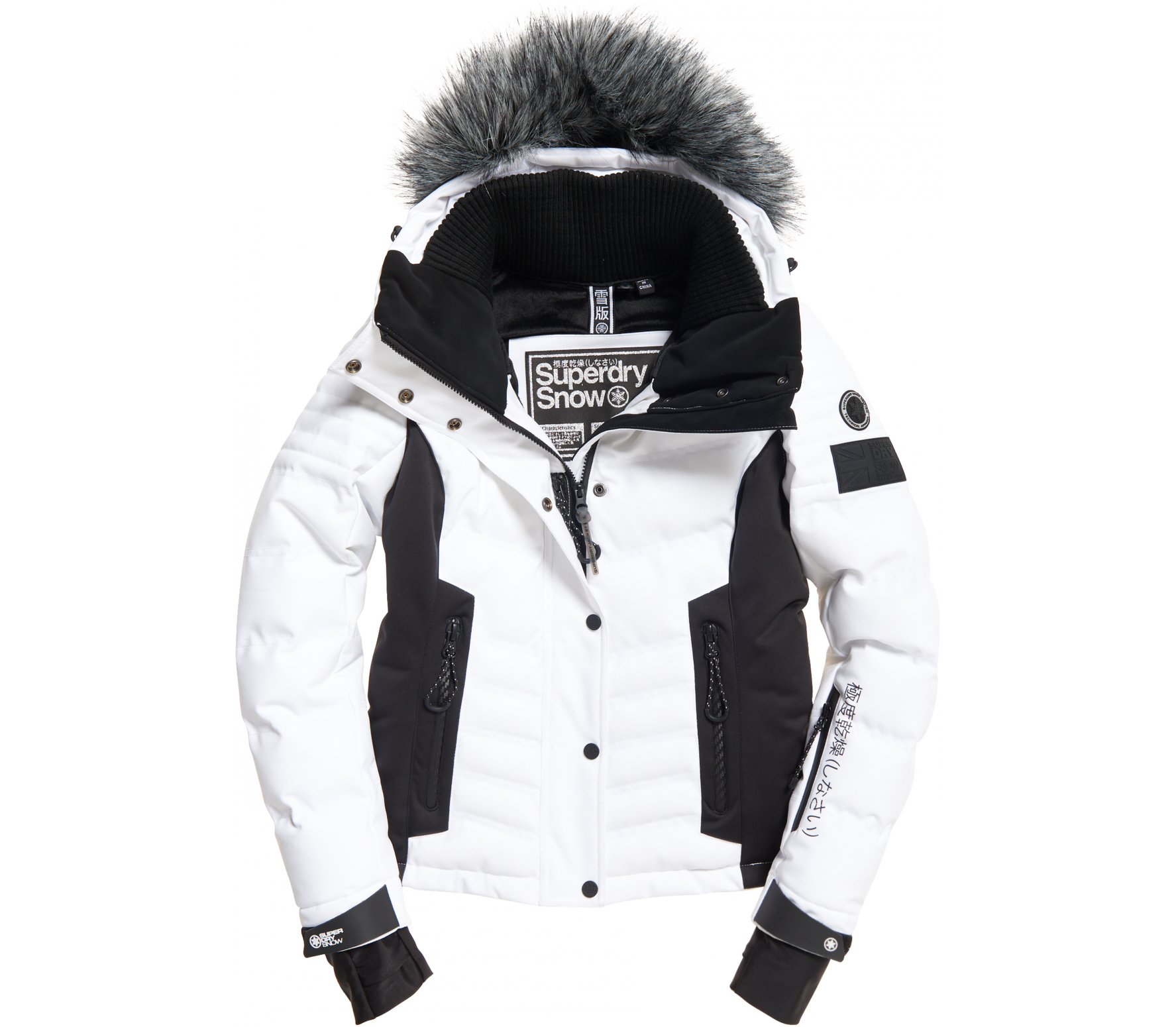 info for 0c4b7 2521f Superdry Luxe Snow Women white