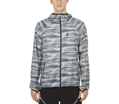 Peak Performance - Hicks Print men's windbreaker (grey/white)