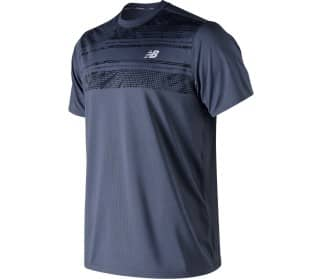 New Balance Rally Crew Herren Tennisshirt