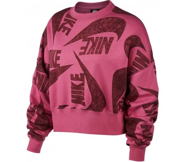 NIKE SPORTSWEAR Red Dames Sweatshirt - 1
