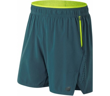 New Balance - 2 in 1 men's running shorts (dark blue)