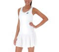Lotto Teams PL Femmes Robe tennis blanc
