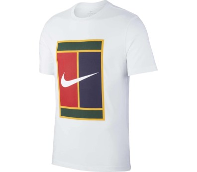 Nike - Heritage men's tennis top (white)
