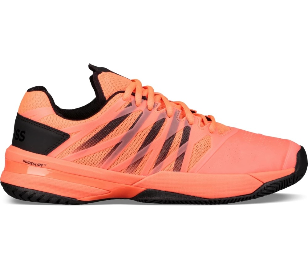 watch acea8 fa96f K-Swiss - Ultrashot men s tennis shoes (neonorange black)