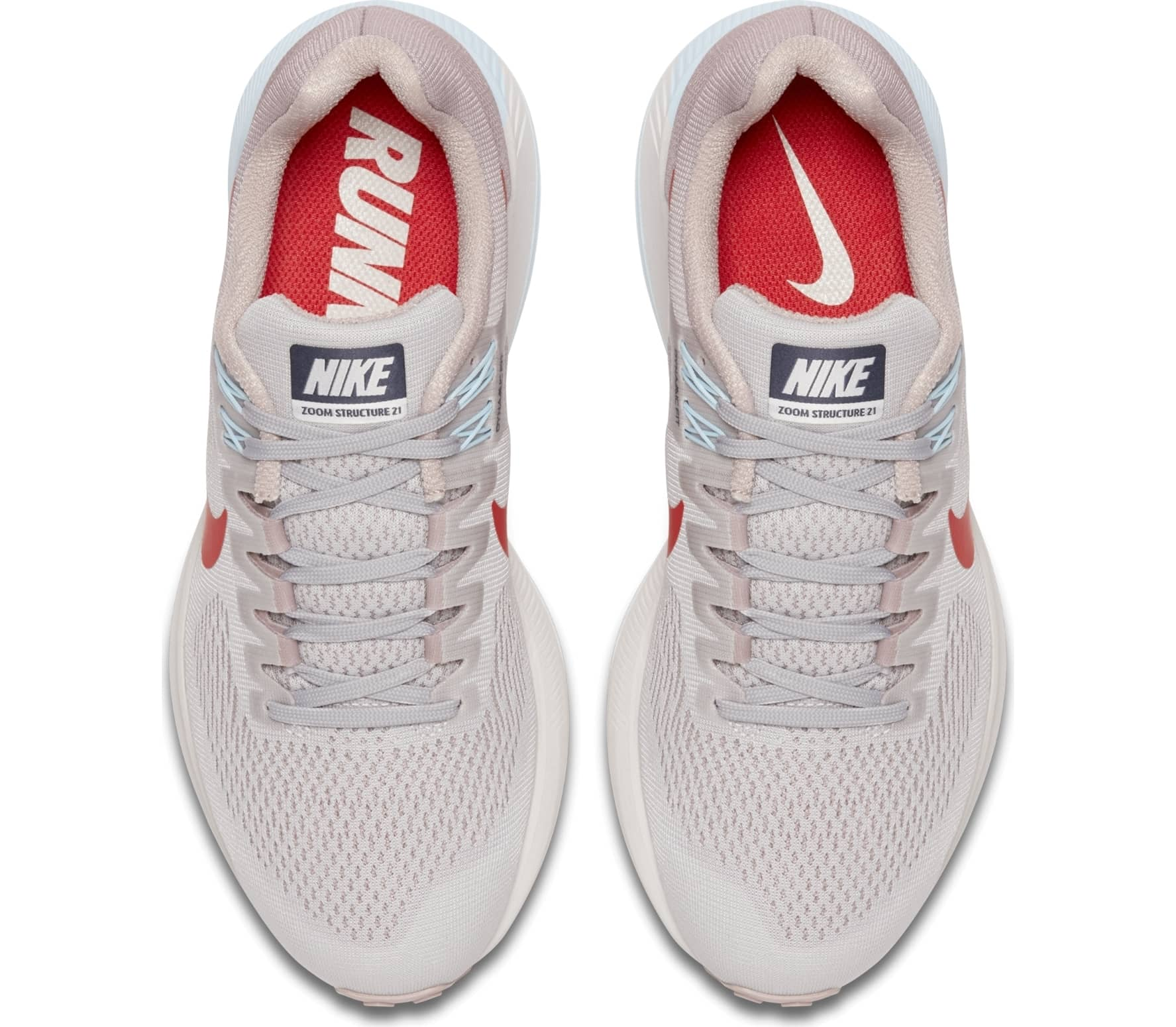 finest selection 4fc65 4ccfd Nike - Air Zoom Structure 21 womens running shoes (pinkred