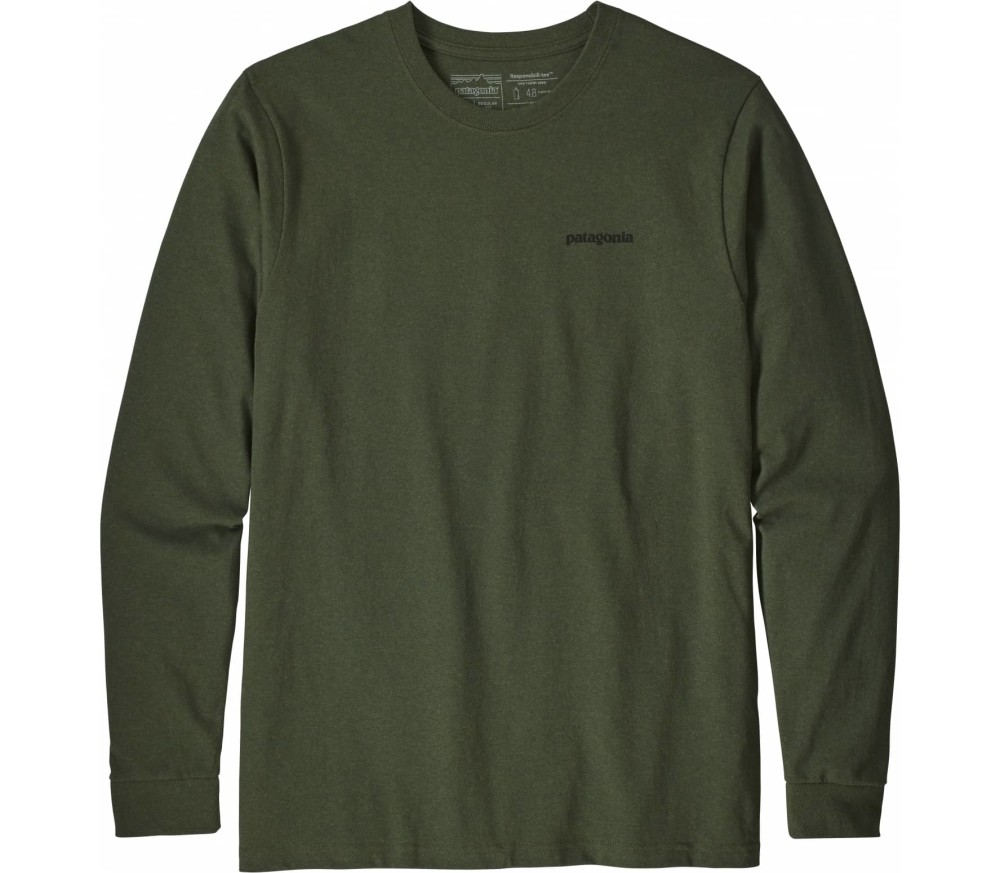 Patagonia - P-6 Logo Responsibili men's long-sleeved top (green)