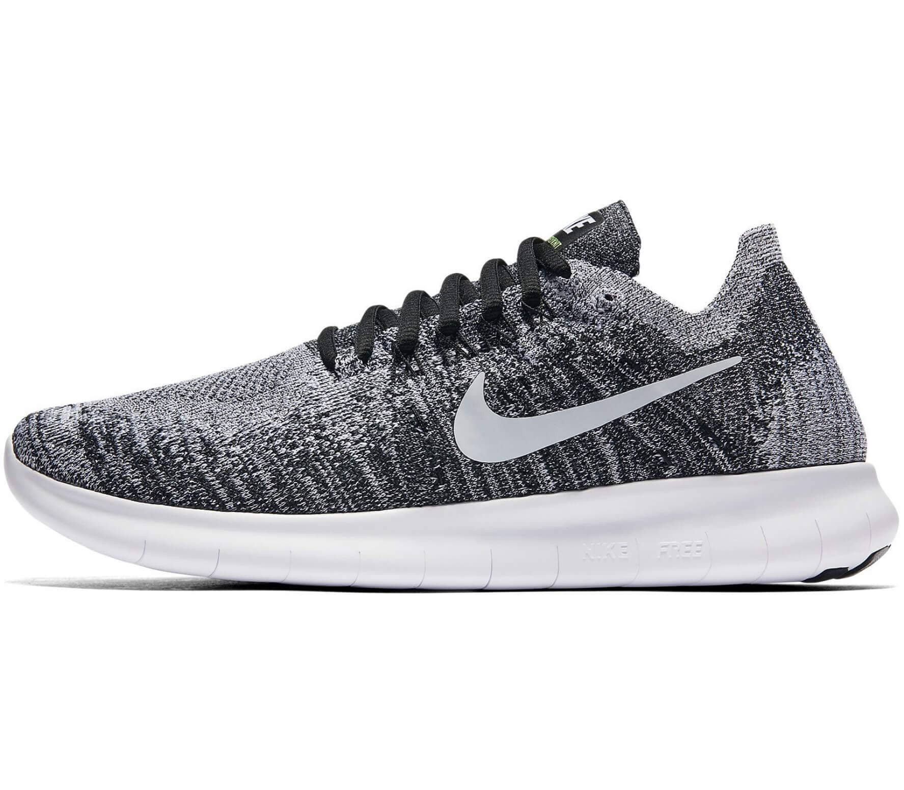 first rate 3fffd 21b37 Nike - Free RN Flyknit 2 womens running shoes (greywhite)